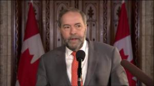 Mulcair calls death of Conservative MP Jim Hillyer 'very sad day'
